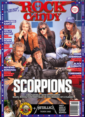 Rock Candy Magazine - Issue 22 - October - November 2020