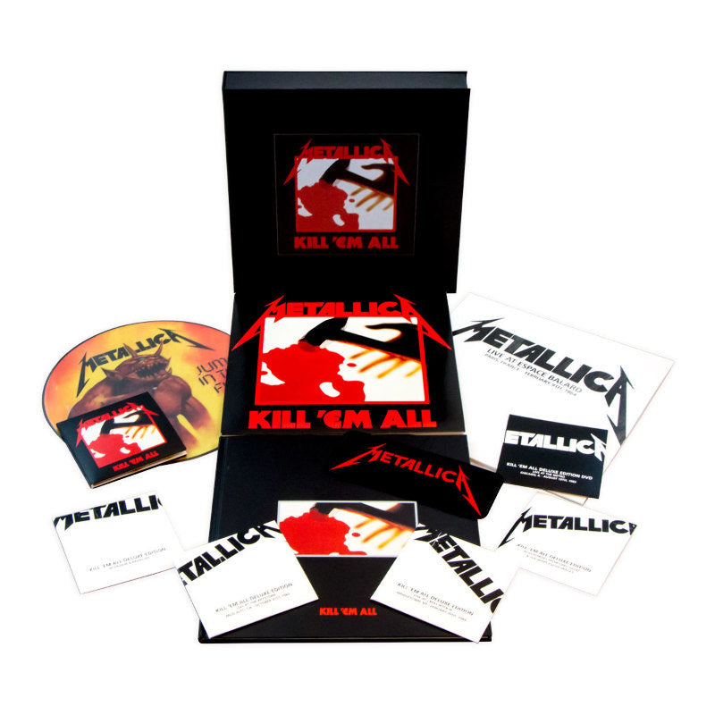 Metallica - Kill Em All (4LP/5CD/1DVD box set) - Vinyl - New
