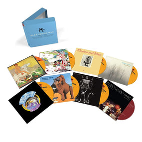 Fleetwood Mac - Fleetwood Mac 1969 To 1974 (Then Play On/Kiln House/Future Games/Bare Trees/Penguin/Mystery To Me/Heroes Are Hard To Find/Live From The Record Plant) (8CD Box Set) - CD - New