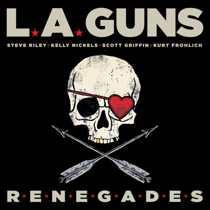 L.A. Guns - Renegades - CD - New - PRE-ORDER