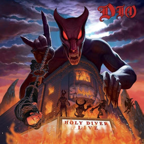 Dio - Holy Diver Live (Deluxe Ed. 2CD Mediabook reissue) - CD - New - PRE-ORDER