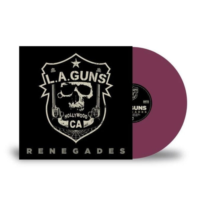 L.A. Guns - Renegades (Purple Vinyl) - Vinyl - New - PRE-ORDER
