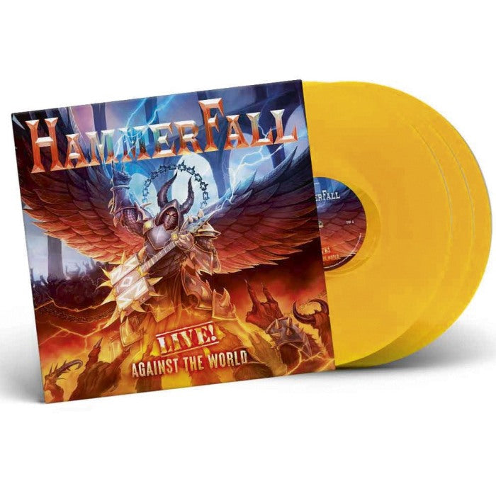 Hammerfall - Live! Against The World (Ltd. Ed. 3LP Orange Vinyl gatefold) - Vinyl - New