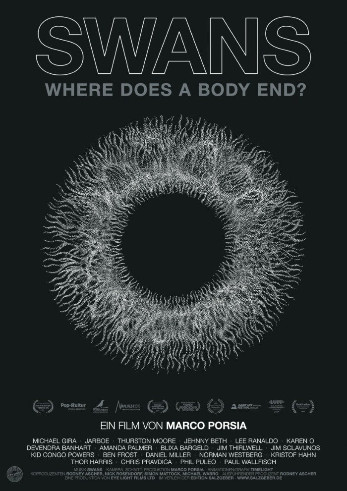 Swans - Where Does A Body End? (R0) - DVD - Music