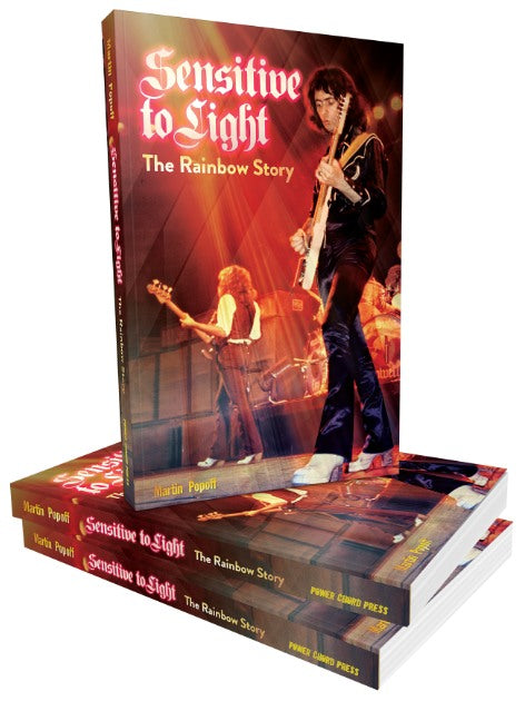 Rainbow - Popoff, Martin - Sensitive To Light - The Rainbow Story - Book - New