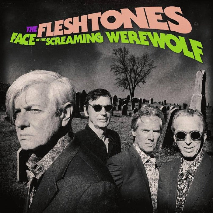 Fleshtones - Face Of The Screaming Werewolf (First. Ed. Purple Splatter Vinyl w. wolfman mask) (2020 RSD LTD ED) - Vinyl - New