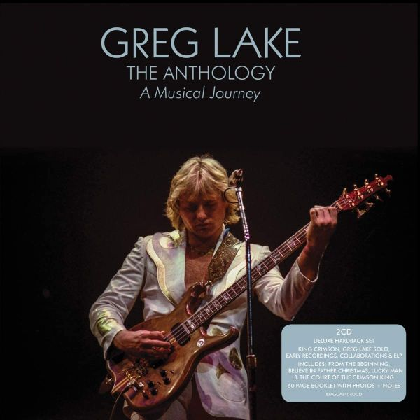 Lake, Greg - Anthology, The - A Musical Journey (Deluxe 2CD 2020 hardback reissue) - CD - New