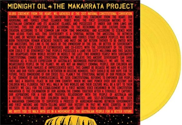 Midnight Oil - Makarrata Project, The (Ltd. Ed. Yellow Vinyl) - Vinyl - New
