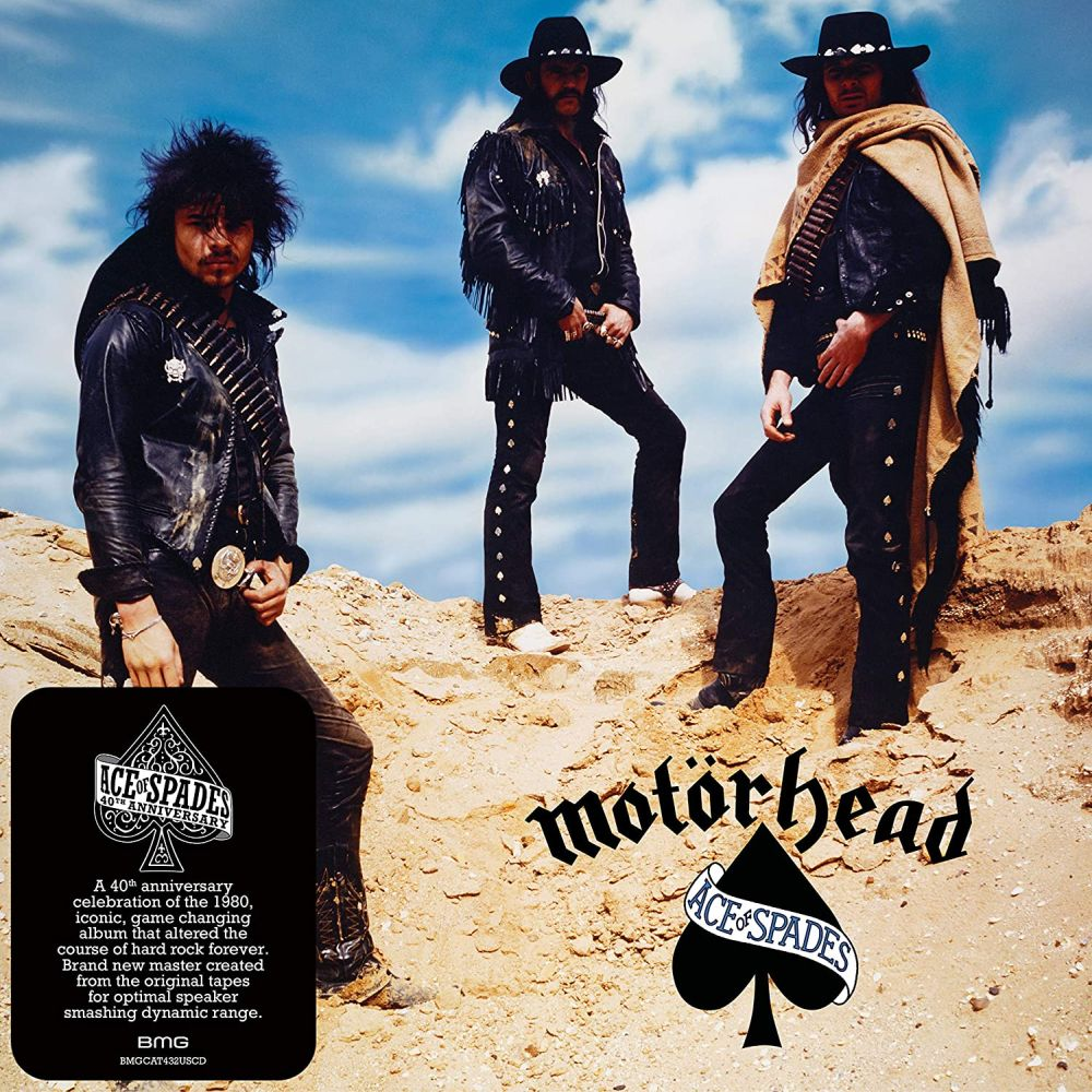 Motorhead - Ace Of Spades (40th Ann. reissue) - CD - New