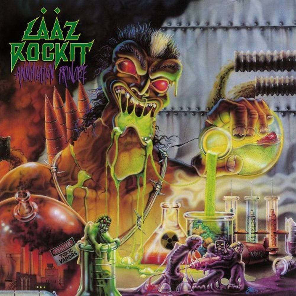 Laaz Rockit - Annihilation Principle (Ltd. Ed. 2020 Transparent Yellow Vinyl reissue) - Vinyl - New