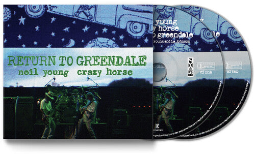 Young, Neil & Crazy Horse - Return To Greendale (Live) (2CD) - CD - New