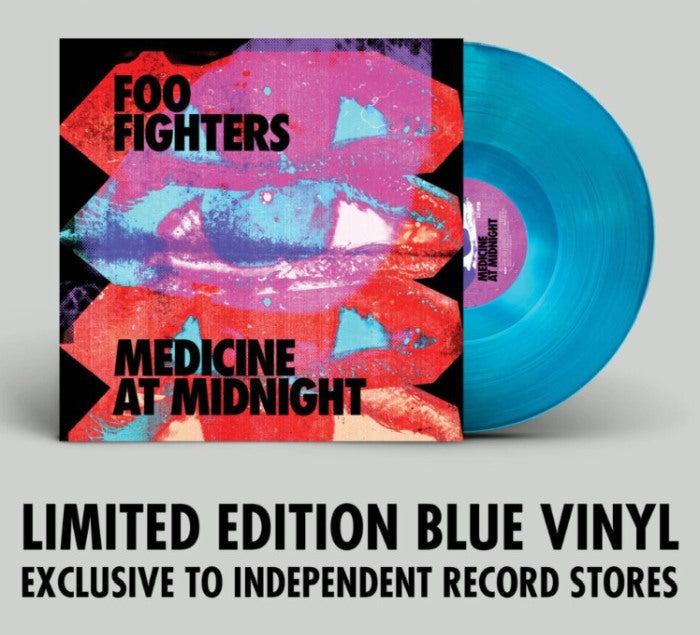 Foo Fighters - Medicine At Midnight (Indie Exclusive Blue Vinyl) - Vinyl - New - PRE-ORDER