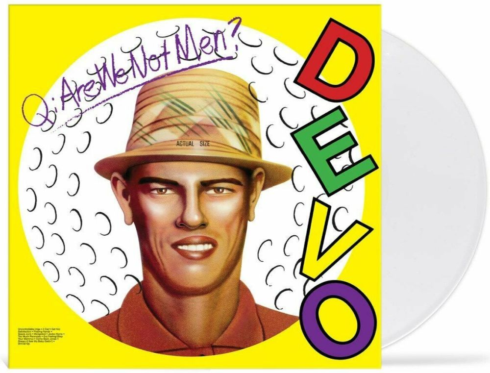 Devo - Q: Are We Not Men? A: We Are Devo! (Ltd. Ed. Golfball White Vinyl) - Vinyl - New