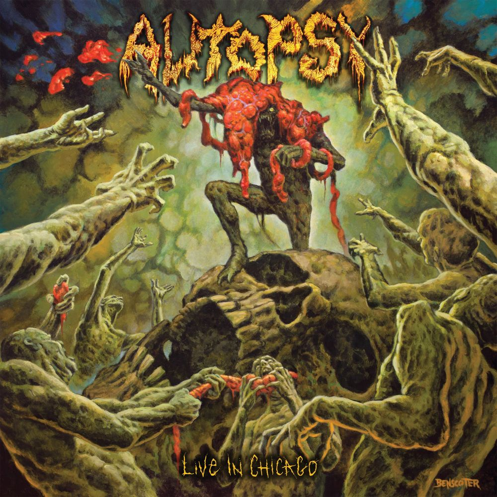 Autopsy - Live In Chicago - CD - New