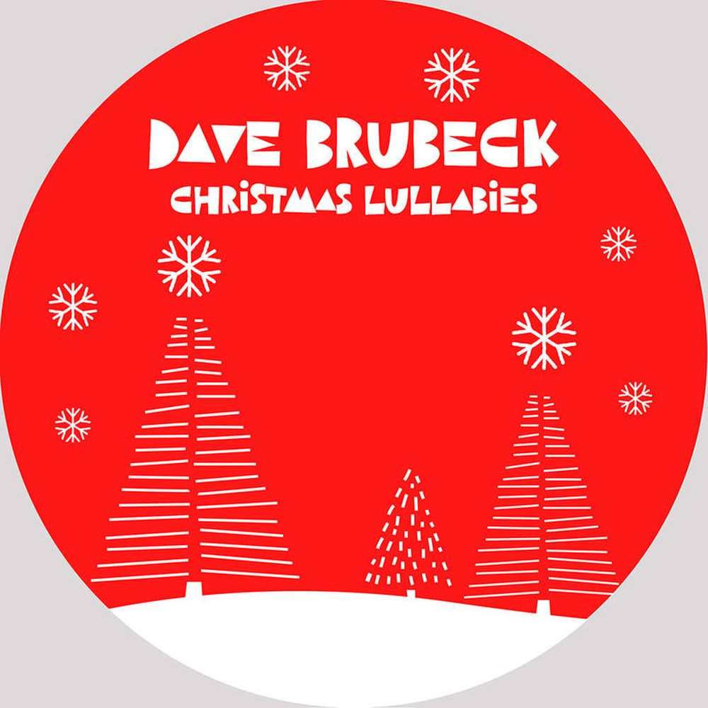 Brubeck, Dave - Christmas Lullabies (Red Vinyl 12 Inch w. etching) (2020 RSD Black Friday LTD ED) - Vinyl - New