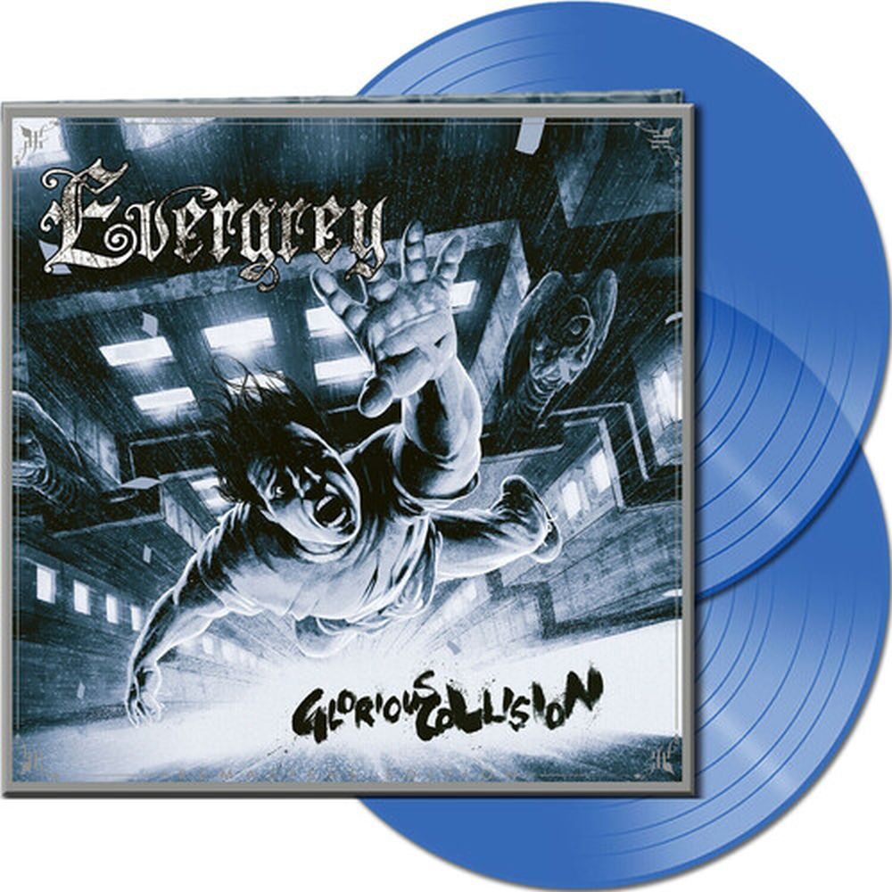 Evergrey - Glorious Collision (Ltd. Ed. 2020 2LP Clear Blue Vinyl gatefold rem. w. 3 bonus tracks - 325 copies) - Vinyl - New