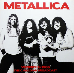 Metallica - Winnipeg 1986 - The Canadian Broadcast (2LP gatefold) - Vinyl - New