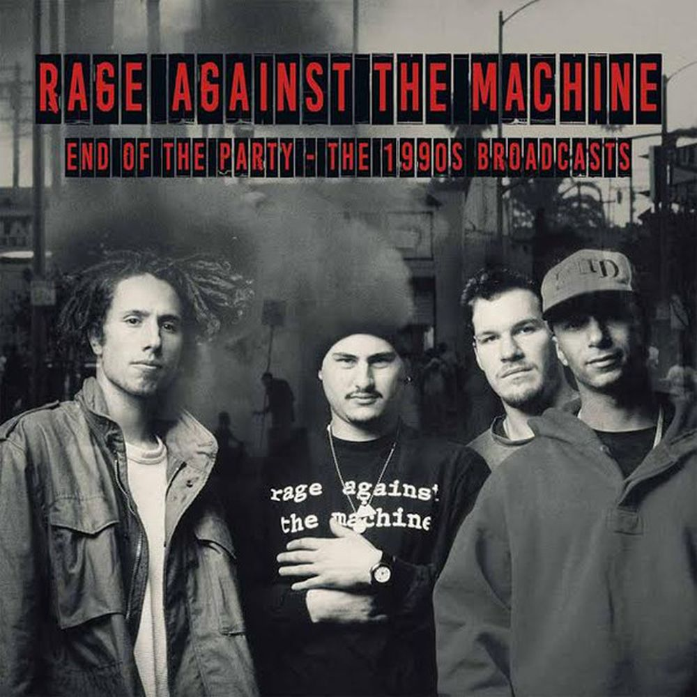 Rage Against The Machine - End Of The Party - The 1990s Broadcasts (2LP gatefold) - Vinyl - New