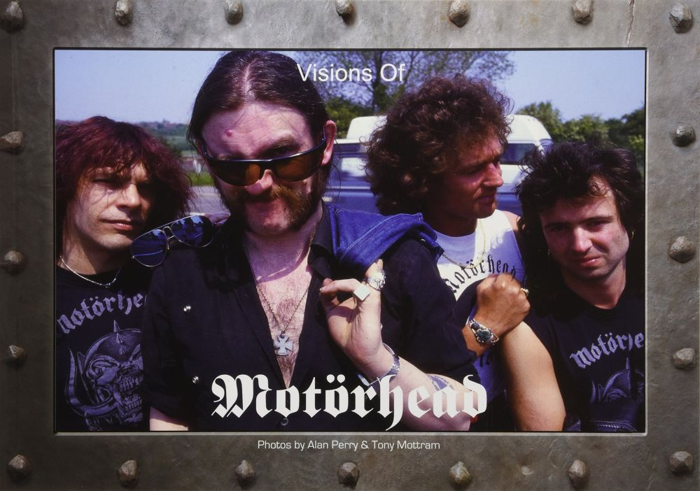 Motorhead - Perry, Alan & Tony Mottram - Visions Of Motorhead - Book - New