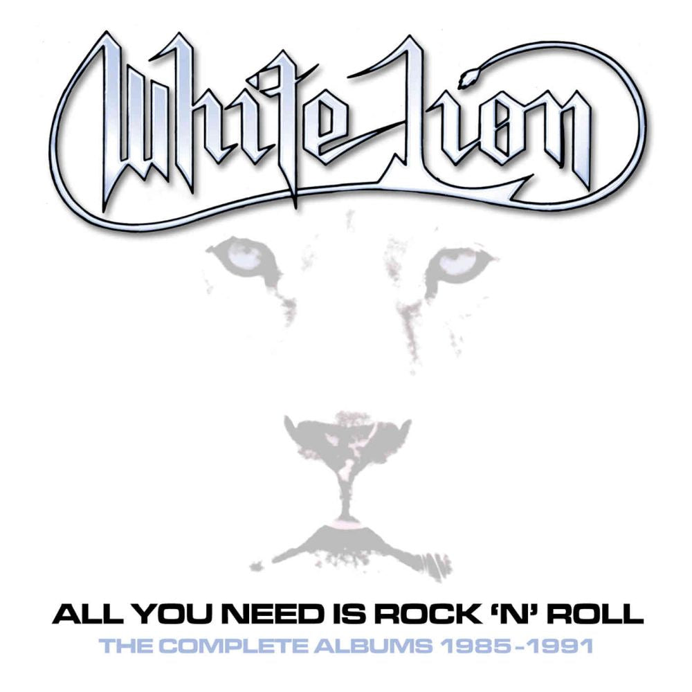 White Lion - All You Need Is Rock 'N' Roll - The Complete Albums 1985-1991 (Fight To Survive/Pride/Big Game/Mane Attraction/Live) (5CD Box Set) - CD - New