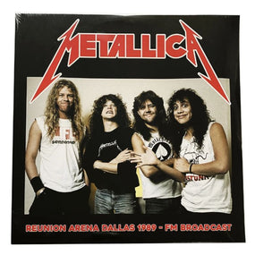 Metallica - Reunion Arena Dallas 1989 FM Broadcast (2LP) - Vinyl - New