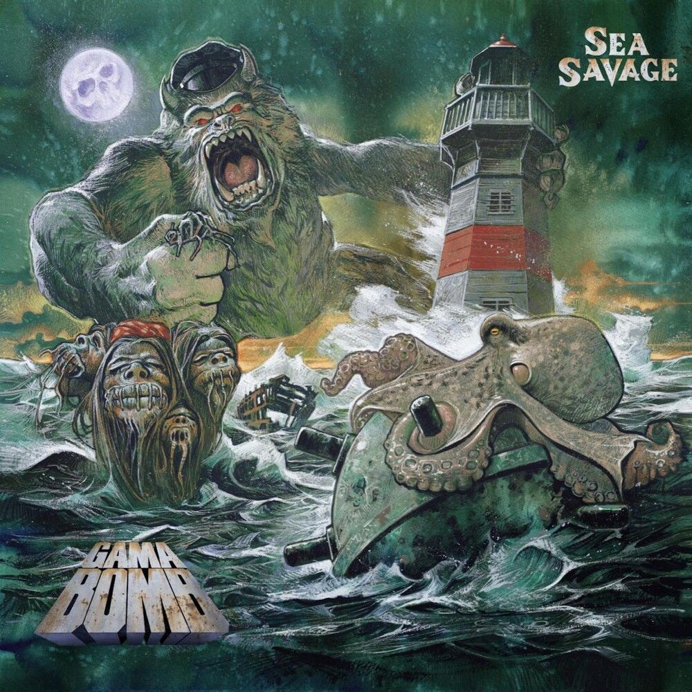 Gama Bomb - Sea Savage - CD - New