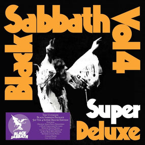 Black Sabbath - Volume 4 (Super Deluxe 5LP Box Set w. 40 pg book + poster) - Vinyl - New