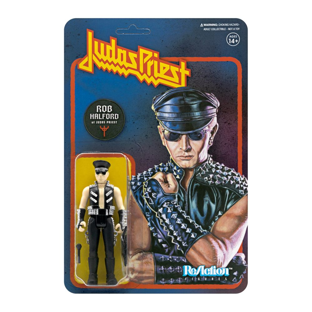 Judas Priest - Rob Halford 3.75 inch Super7 ReAction Figure