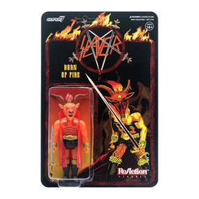 Slayer - Minotaur (BORN OF FIRE) 3.75 inch Super7 ReAction Figure