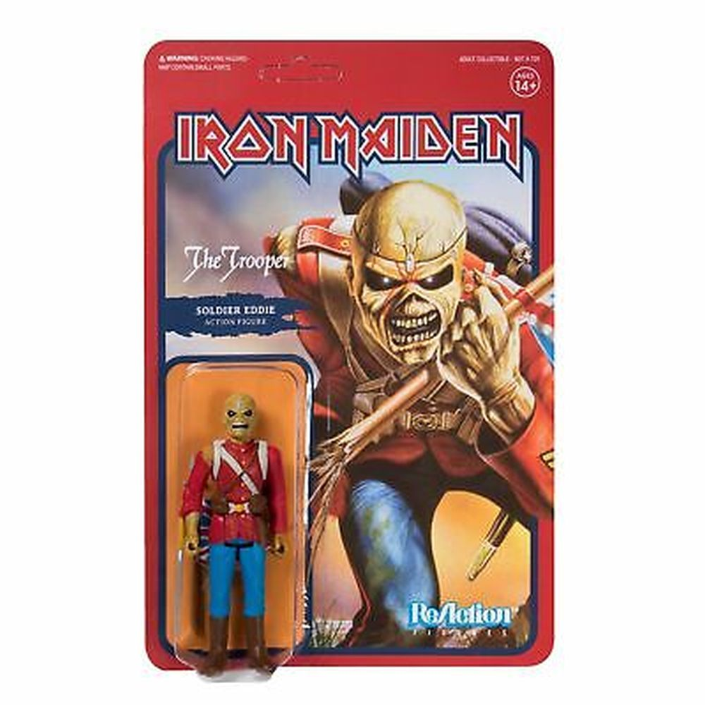 Iron Maiden - The Trooper 3.75 inch Super7 ReAction Figure
