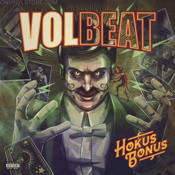 Volbeat - Hokus Bonus (numbered ed. of 3000) (2020 RSD Black Friday LTD ED) - Vinyl - New