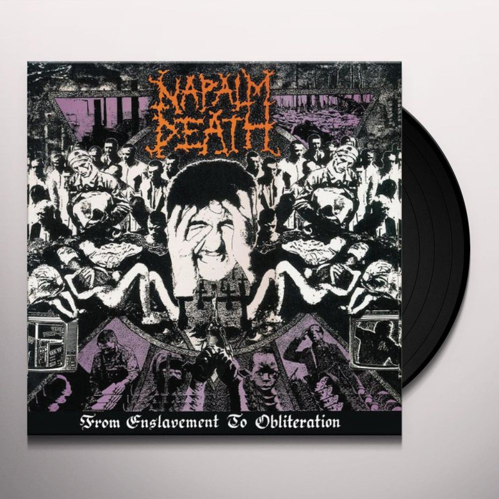 Napalm Death - From Enslavement To Obliteration (2017 FDR rem.) - Vinyl - New