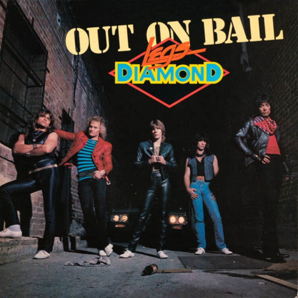 Legs Diamond - Out On Bail (Rock Candy rem. w. 5 bonus tracks) - CD - New