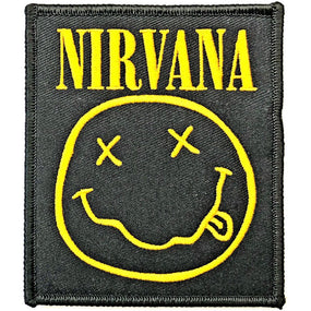 Nirvana - Smiley Sew-on Patch
