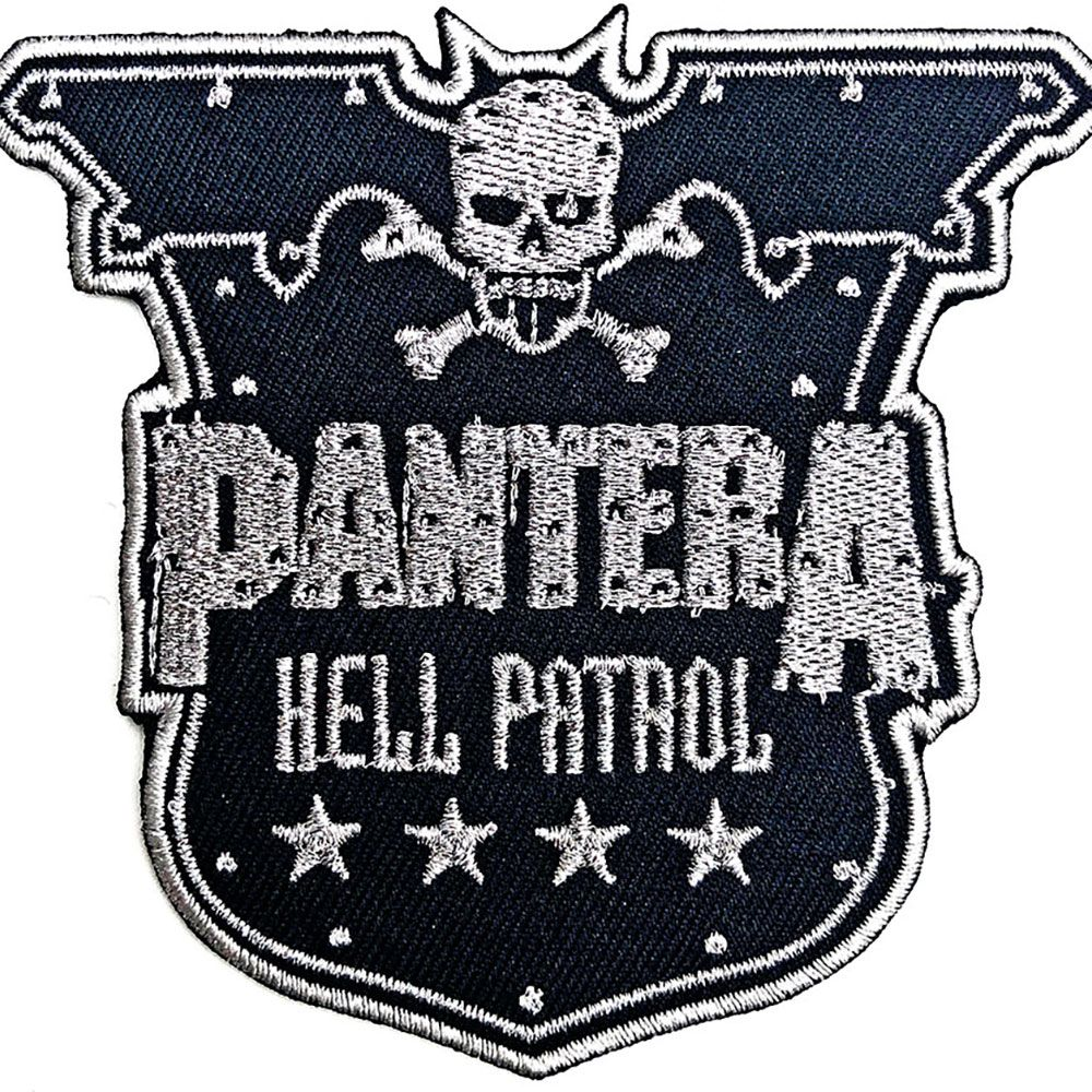Pantera - Hell Patrol Sew-on Patch