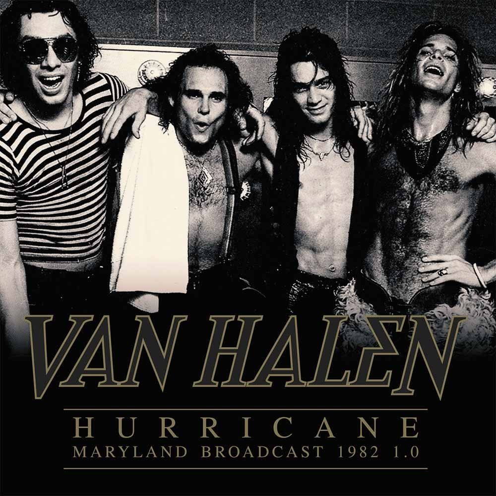 Van Halen - Hurricane - Maryland Broadcast 1982 1.0 (2LP gatefold) - Vinyl - New