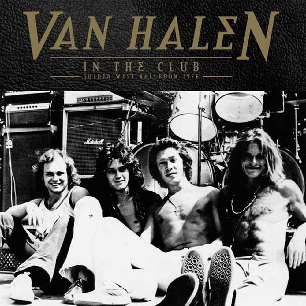 Van Halen - In The Club - Golden West Ballroom 1976 (2LP gatefold) - Vinyl - New