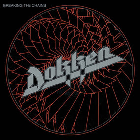 Dokken - Breaking The Chains (Ltd. Ed. 180g 2020 Translucent Red Vinyl reissue) - Vinyl - New