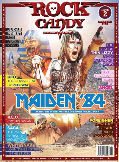 Rock Candy Magazine - Issue 2 - June - July 2017
