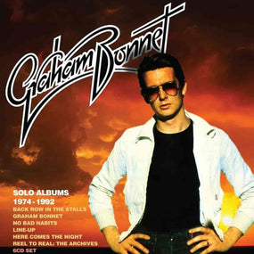 Bonnet, Graham - Solo Albums 1974-1992 (Back Row In The Stalls/Graham Bonnet/No Bad Habits/Line-Up/Here Comes The Night/Reel To Real: The Archives) (6CD Box Set) - CD - New