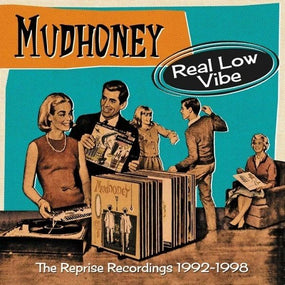 Mudhoney - Real Low Vibe - The Complete Reprise Recordings 1992-1998 (Piece Of Cake/My Brother The Cow/Tomorrow Hit Today/On Tour Now) (4CD Box Set) - CD - New