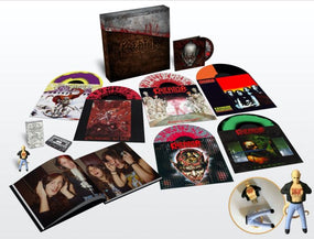 Kreator - Under The Guillotine (6 X Colour vinyl, DVD, Book, Cassette Box Set) - Vinyl - New - PRE-ORDER