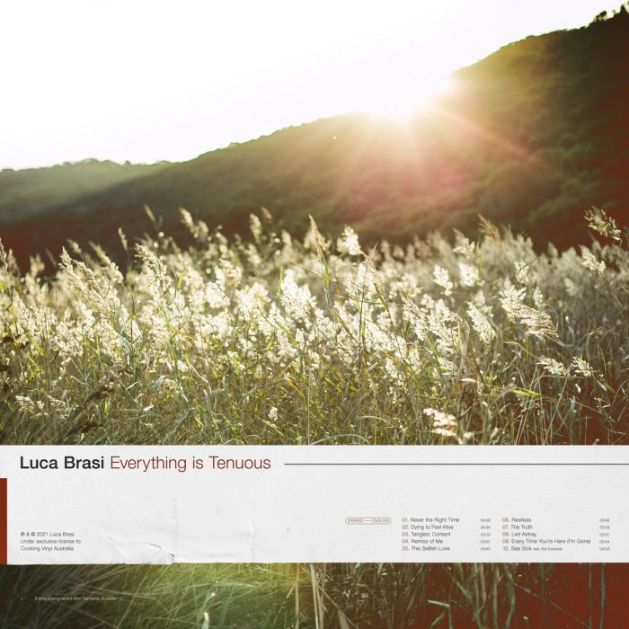 Luca Brasi - Everything is Tenuous (Indie Exclusive Transparent Beer w. Bronze Heavy Splatter Vinyl) - Vinyl - New
