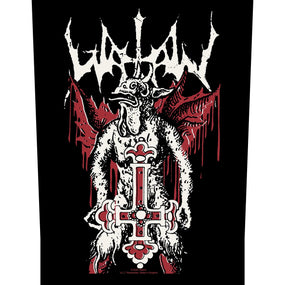 Watain - Inverted Cross - Sew-On Back Patch