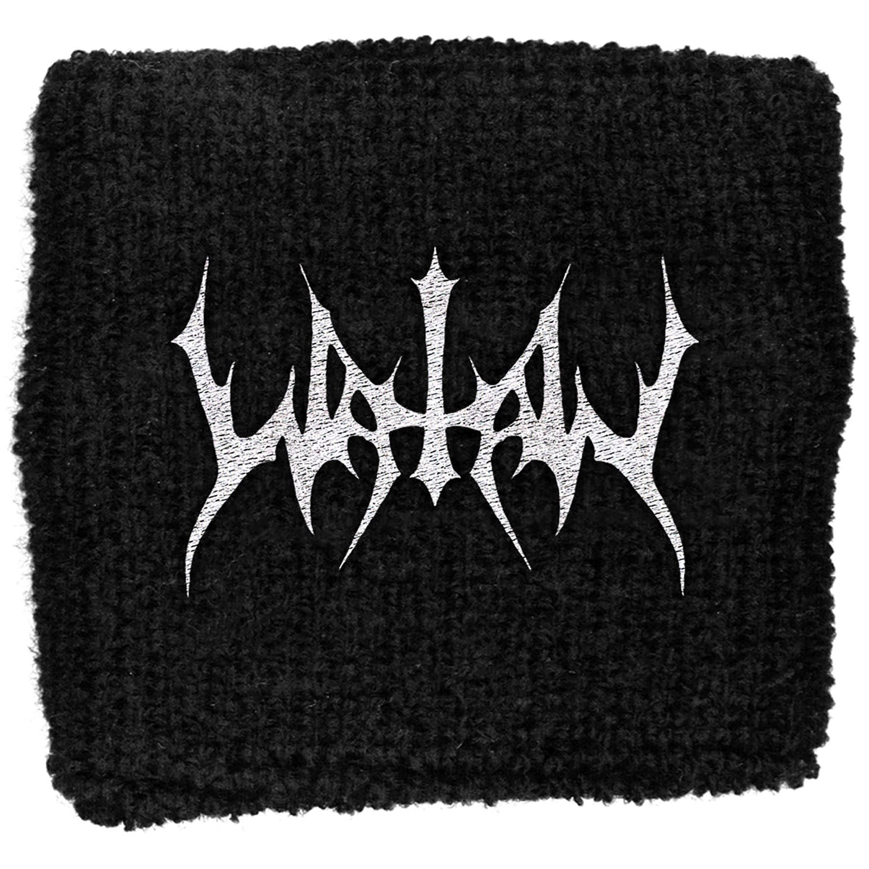 Watain - Sweat Towelling Embroided Wristband (Logo)