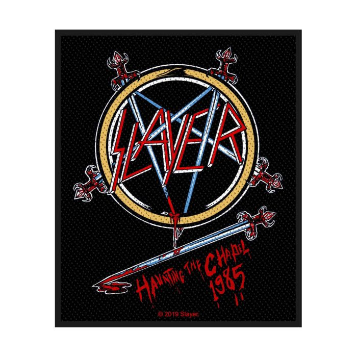 Slayer - Haunting The Chapel Sew-On Patch