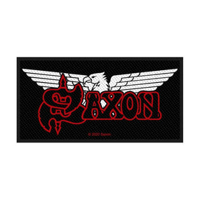 Saxon - Logo Sew-On Patch