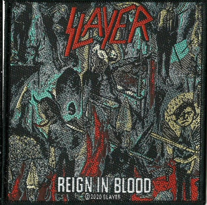 Slayer - Reign In Blood Sew-On Patch