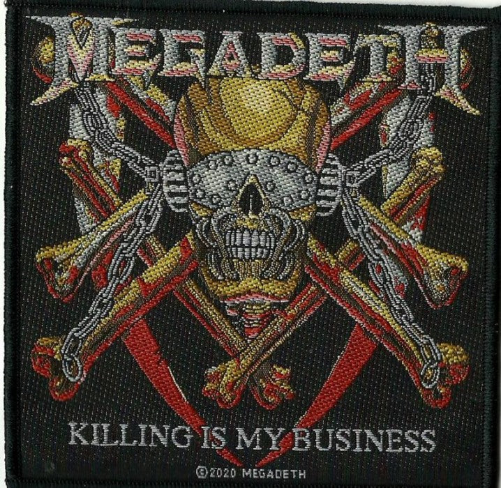 Megadeth - Killing Is My Business Sew-On Patch