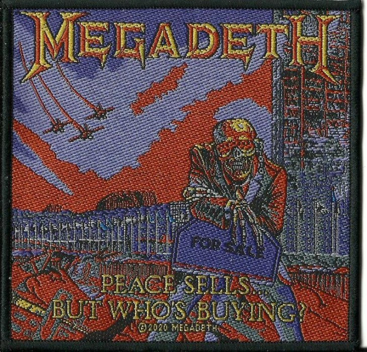 Megadeth - Peace Sells Sew-On Patch
